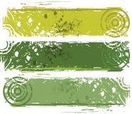 Bandera abstracta del grunge Imágenes de archivo libres de regalías