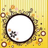 Bandera abstracta del vector Imagen de archivo libre de regalías