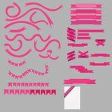 Bandera abstracta del vector Imagenes de archivo