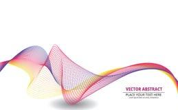 Bandera abstracta del vector Fotografía de archivo libre de regalías