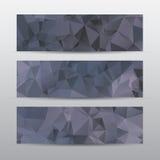 Bandera abstracta para el trabajo creativo, ejemplo del vector Fotografía de archivo