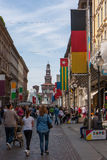 Bandera Alemania Fotografía de archivo libre de regalías