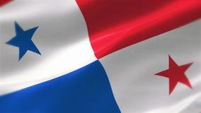 bandera altamente detallada 4k de Panamá libre illustration