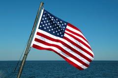 Bandera América Foto de archivo libre de regalías