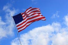 Bandera americana imagenes de archivo