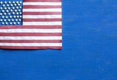 Bandera americana Imagen de archivo libre de regalías
