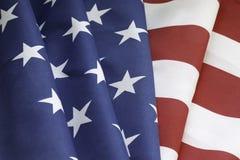Bandera americana Imagen de archivo