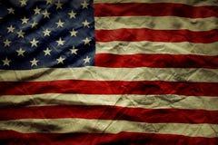 Bandera americana Fotografía de archivo