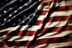 Bandera americana Fotos de archivo libres de regalías