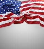 Bandera americana Fotografía de archivo libre de regalías