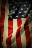 Bandera americana Foto de archivo