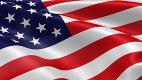 Bandera americana stock de ilustración