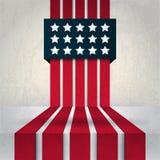 Bandera americana abstracta Libre Illustration