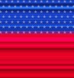 Bandera americana abstracta para feliz el 4 de julio Fotos de archivo
