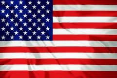 Bandera americana América 4ta, patriota de los E.E.U.U. imagenes de archivo
