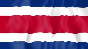 Bandera animada de Costa Rica