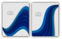 Bandera anual abstracta del documento de Infographic de la página de la revista de la plantilla del cartel de la cubierta de libr Imágenes de archivo libres de regalías