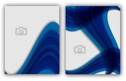 Bandera anual abstracta del documento de Infographic de la página de la revista de la plantilla del cartel de la cubierta de libr Fotografía de archivo libre de regalías