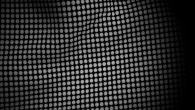 Bandera blanca Dots Waving Texture stock de ilustración