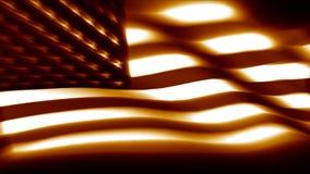 Bandera borrosa de los E.E.U.U. de la sepia stock de ilustración