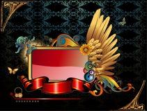 Bandera brillante del vector Fotografía de archivo libre de regalías