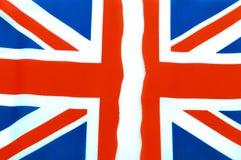 Bandera BRITÁNICA rasgada apagado fotos de archivo libres de regalías