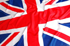 Bandera británica, Union Jack Foto de archivo libre de regalías