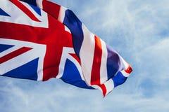Bandera brit?nica fotos de archivo