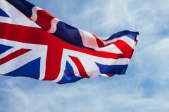 Bandera brit?nica imagenes de archivo