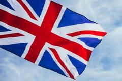 Bandera brit?nica imagen de archivo libre de regalías