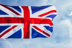 Bandera brit?nica foto de archivo libre de regalías