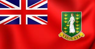 Bandera civil de British Virgin Islands Imagenes de archivo
