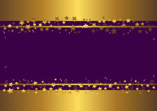 Bandera con las estrellas. vector Fotografía de archivo