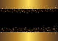 Bandera con las estrellas. vector. Fotos de archivo libres de regalías