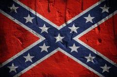 Bandera confederada Imágenes de archivo libres de regalías
