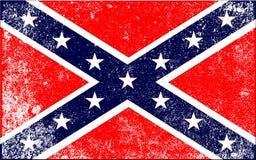 Bandera confederada de la guerra civil libre illustration