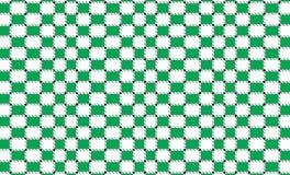 Bandera a cuadros verde y blanca del mantel Texturice para: tela escocesa, manteles, ropa, camisas, vestidos, papel, lecho, manta ilustración del vector