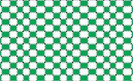 Bandera a cuadros verde y blanca del mantel Texturice para: tela escocesa, manteles, ropa, camisas, vestidos, papel, lecho, manta stock de ilustración