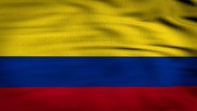 Bandera 3d de Colombia rendida libre illustration