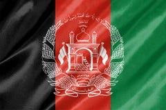 Bandera de Afganistán imagen de archivo libre de regalías