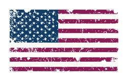 Bandera de Amarican Fotografía de archivo