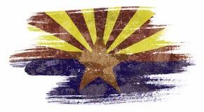 Bandera de Arizona stock de ilustración