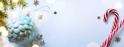Bandera de Art Christmas Holidays foto de archivo libre de regalías
