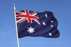 Bandera de Australia foto de archivo
