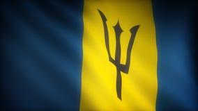 Bandera de Barbados ilustración del vector