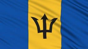 Bandera de Barbados. ilustración del vector