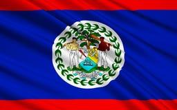 Bandera de Belice, Belmopan Ilustración del Vector