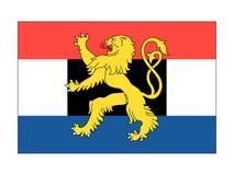 Bandera de Benelux stock de ilustración