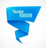 Bandera de Blue Ribbon Imagen de archivo libre de regalías