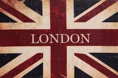 Bandera de británicos del vintage fotografía de archivo libre de regalías